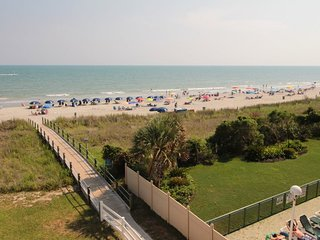 2/2 Bright & Beachy and Just Renovated - Looks Down the Beach. 1-303, North Myrtle Beach