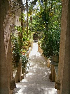 The entrance, the beginning walk to your beautiful vacation villa