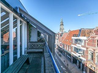 Stunning city penthouse duplex, Groningen
