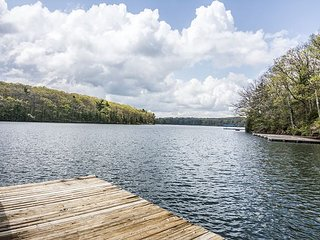 Expansive decks & private dock!