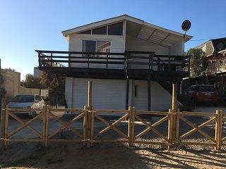 Cabañas en Algarrobo Norte a una cuadra de la playa