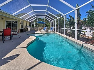 'Tahiti Breeze' 3BR Marco Island Home w/Pool!