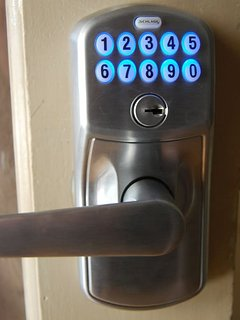 Keypad locks for 24-hour check-in with a safe and well-lighted parking area.
