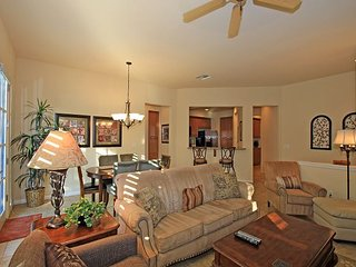 A Three Bedroom, Three Bath Single Story Town Home Close to Multiple Pools!
