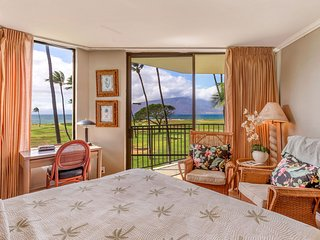 2BR Beachfront Condo; Panoramic Ocean Views; Modern & Clean; Family Friendly!