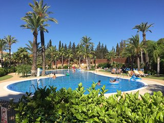 Exclusive New Fully furnished 2 bed 2 bath groundfloor apartment, Puerto Banus