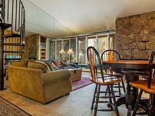 Studio Condo w/ Loft, Heart of Vail, No Car Needed, Walk to Lifts, Shops