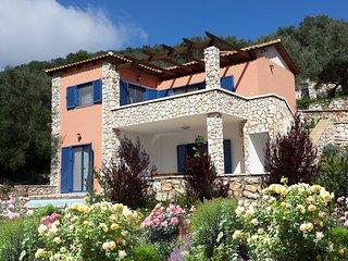 Villa Tentura - Sivota Bay villas - Lefkada villas Greece