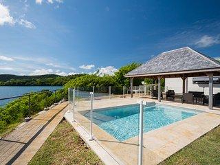 Villa Ti Piton, pieds dans l'eau, vue panoramique