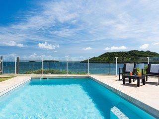 Villa Madame, pieds dans l'eau, vue panoramique