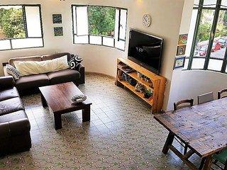3 BD + terrace +Ben Gurion!