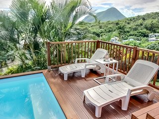 Villa Emma, moderne  - piscine, proche plage du Diamant - 3 Chambres, Le Diamant