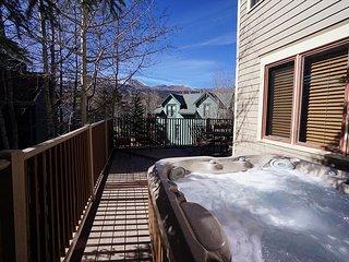 Mountain Comfort House Deck Breckenridge Lodging Vacation Rental