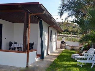 Villa Solemare vista mare-azzurro clima wifi., Balestrate
