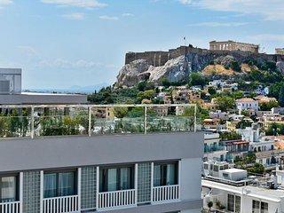 ELEGANT ALL NEW Fully Equipped ATHENIAN BLISS Near Metro st&Su.Per.Host!!, Kallithea