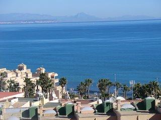 Bungalow con vista  frente del mar