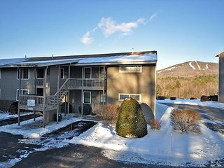 2 BR Condo near Cranmore. Cable, WiFi, 1 min to No Conway village & Skiing!, North Conway