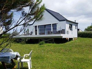 Maison écologique avec vue sur mer à la Pointe du Raz avec terrasse de 44 m², Audierne