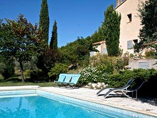 Belle maison avec piscine entourée d'oliviers, Merindol