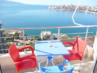 Luxury apartment with sea view in Saranda