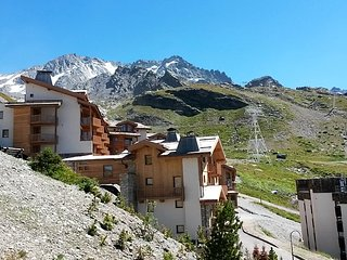 Apartment with wonderful mountain view, Val Thorens