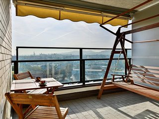 Spacious apartment with double panoramic terrace!