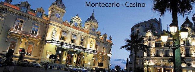 MONTECARLO célèbre Casino, les yachts, le château du Prince, les boutiques, les hôtels, vous rayonnez
