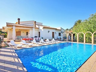 7 bedroom Villa in Calpe, Valencia, Spain : ref 5336880