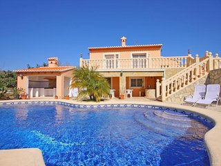4 bedroom Villa in Moraira, Valencia, Spain : ref 5336905