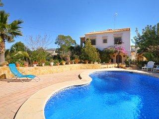 6 bedroom Villa in Moraira, Valencia, Spain : ref 5336925