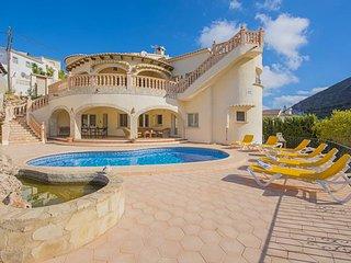 3 bedroom Villa in Moraira, Valencia, Spain : ref 5336945