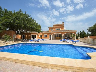 4 bedroom Villa in Moraira, Valencia, Spain : ref 5336949