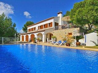 4 bedroom Villa in Benissa, Valencia, Spain : ref 5336845