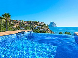 4 bedroom Villa in Calpe, Valencia, Spain : ref 5336967