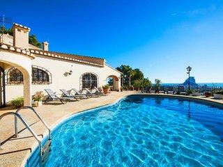 10 bedroom Villa in Calpe, Valencia, Spain : ref 5336969