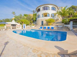 5 bedroom Villa in Moraira, Valencia, Spain : ref 5336982