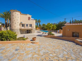 6 bedroom Villa in Calpe, Valencia, Spain : ref 5336987