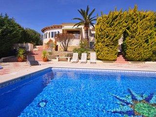 3 bedroom Villa in Calpe, Valencia, Spain : ref 5336847