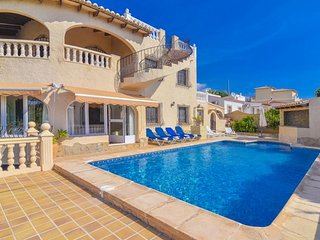 5 bedroom Villa in Calpe, Valencia, Spain : ref 5337015