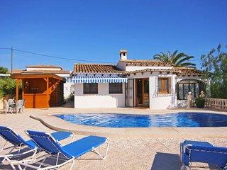 3 bedroom Villa in Calpe, Valencia, Spain : ref 5336851