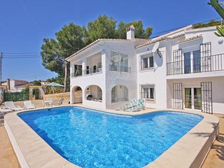 6 bedroom Villa in Moraira, Valencia, Spain : ref 5336866