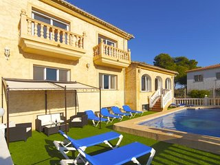 8 bedroom Villa in Calpe, Valencia, Spain : ref 5336869