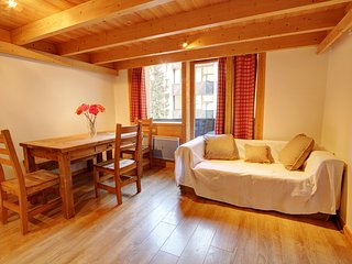 Grand Roc - 1 bedroom + sleeping cabin apartment next to ski lift Grands Montets