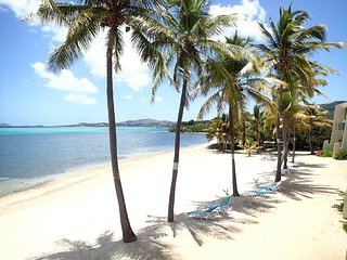 Second Floor Condo Directly on Sugar Beach, Christiansted