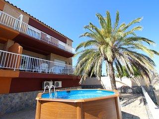 Apart-rent (0046) Casa con piscina Freser, Empuriabrava