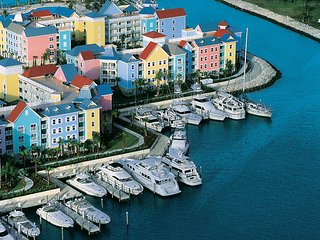 Harborside at Atlantis. 2 Bedroom Lock-off Villa, Sleeps 8 adults