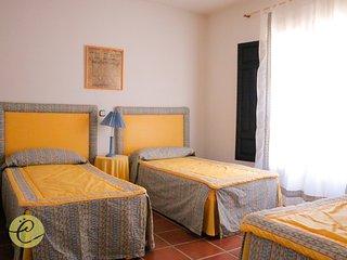 Precioso dormitorio triple, Castilblanco
