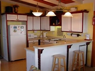 Kitchen facing Ocean