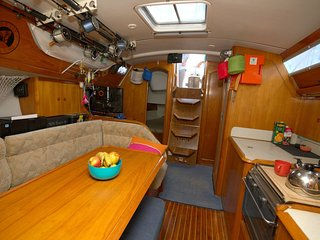 The yachting experience 2 cabins on Sailing Yacht