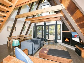 Sugar Pine  - Contemporary 3 BR West Shore Cabin w/ NEW Hot Tub!
